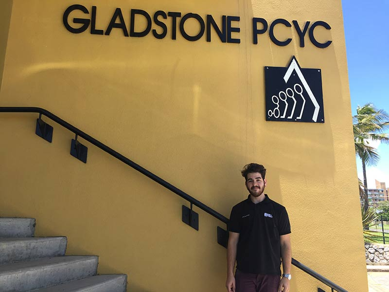 Parker was offered a fulltime position at the Gladstone PCYC