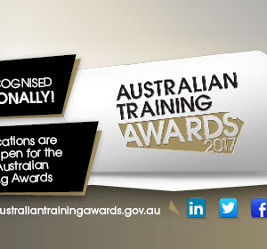 Get your business in the running for the 2017 Australian Training Awards