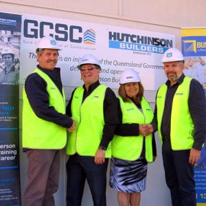 BUSY backs Hutchies in building Indigenous careers in the construction industry