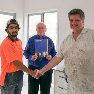Ipswich Business sets Justin on a New Pathway