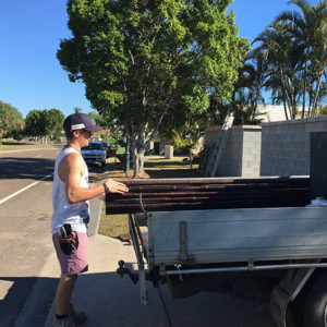 Harry Finds His Passion For Landscaping Through Transition to Work Program