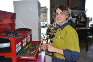 Anika Finds Her Passion in Fitting and Turning