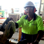 Josephine at the Gold Coast School of Construction